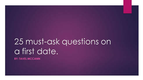 Questions to Ask on First Date