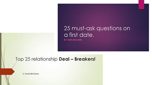 First Date Questions & Dealbreakers